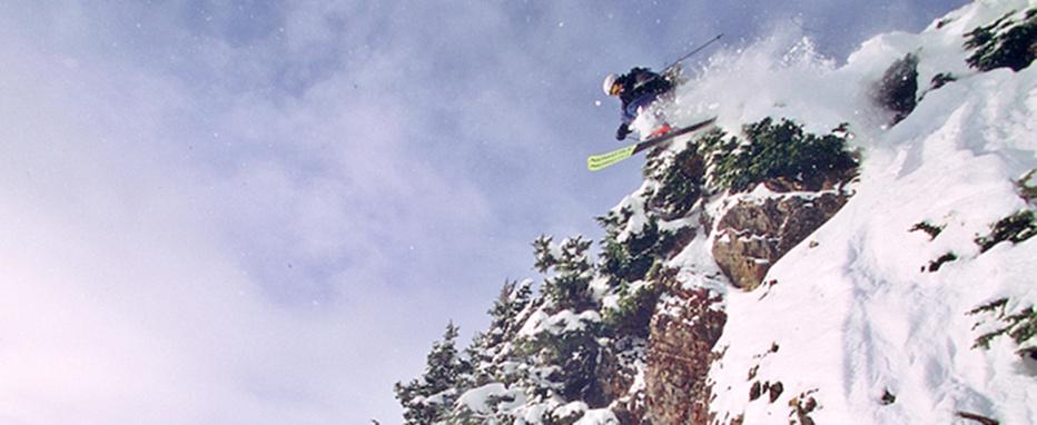 Wedding Photographer Skiing