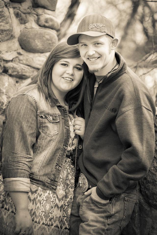 Kelly Branden Engagement Photos - Elliot Marsh Photography - Castle Rock Wedding Photographers