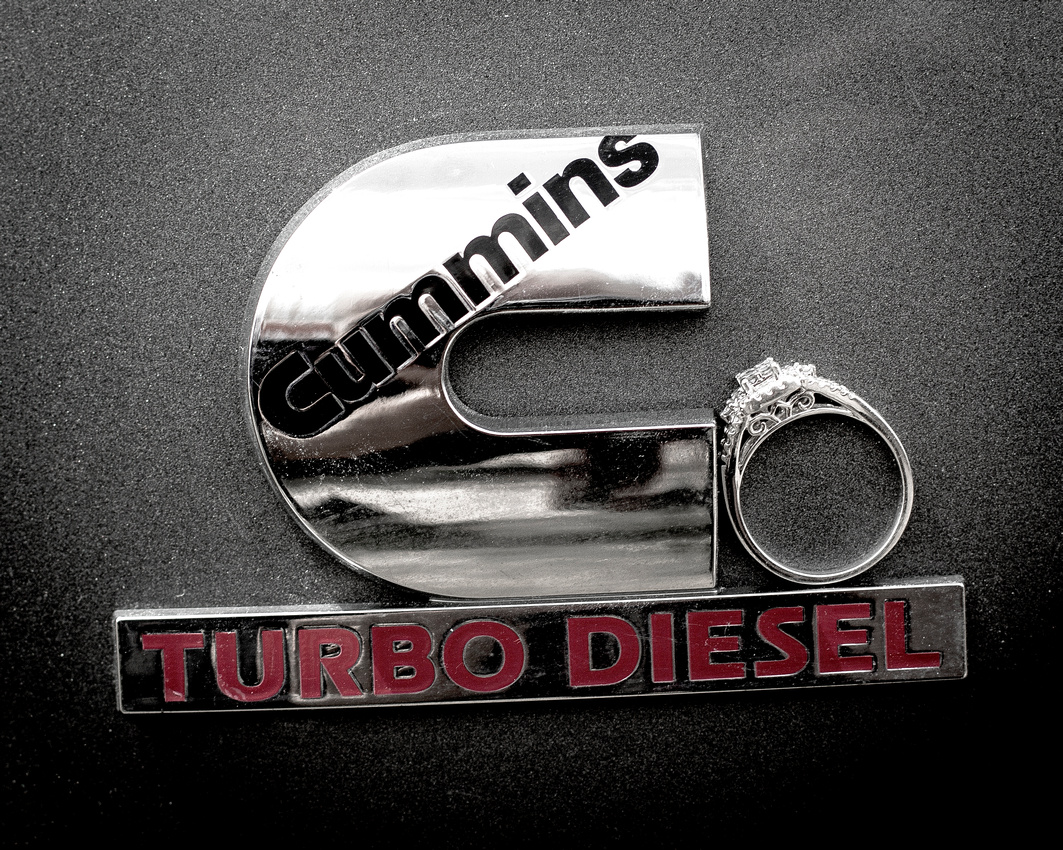 Cummins Turbo Diesel Engagement Ring